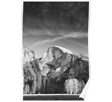 Half Dome: Yosemite National Park, Winter, 2012 Poster