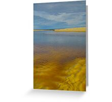 Calm Before Storm. Greeting Card