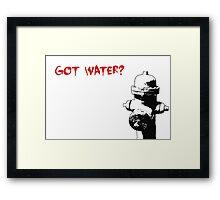 got water? Framed Print