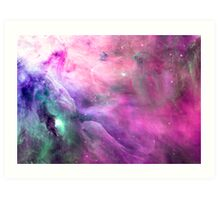 Orion Nebula [Pink Clouds] | Galaxy Mathematix Art Print