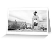 Tomb of the Unknown Soldier, Ottawa Greeting Card