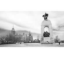 Tomb of the Unknown Soldier, Ottawa Photographic Print