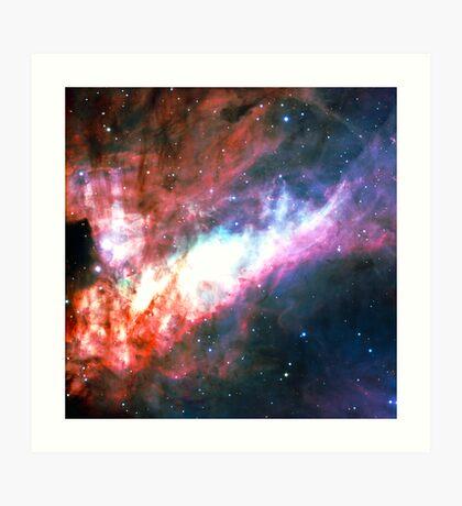 Omega Nebula | Galaxy Mathematix Art Print
