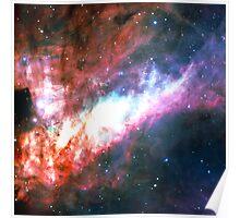 Omega Nebula | Galaxy Mathematix Poster