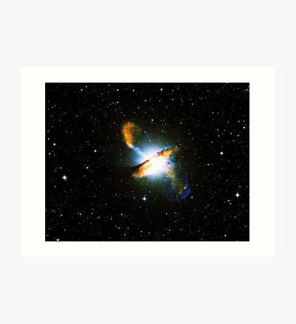 Centaurus A Nebula | Galaxy Mathematix Art Print