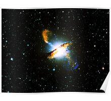Centaurus A Nebula | Galaxy Mathematix Poster