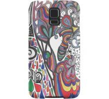 crazy bunny Samsung Galaxy Case/Skin