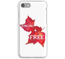 Strong & Free iPhone Case/Skin