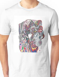 crazy bunny Unisex T-Shirt