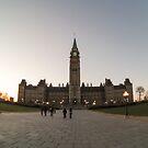 Centre Block, Parliament Hill, Ottawa by jezza323