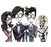 Tim Burton's Doctor Who Photographic Print