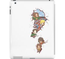 Chibi Titan Slayers iPad Case/Skin