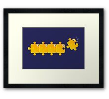 Puzzlefish Framed Print