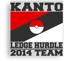 Kanto Ledge Hurdling Team Canvas Print