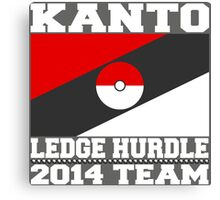 Kanto Ledge Hurdling Team 2 Canvas Print