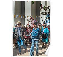Church Festival Parade Poster