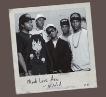 N.W.A and Azusa by misterspotswood