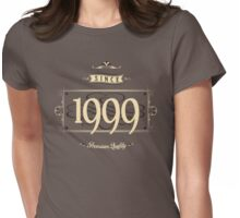 Since 1999 (Cream&Choco) Womens Fitted T-Shirt