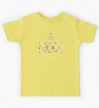 Since 2000 (Cream&Choco) Kids Tee