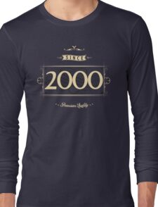 Since 2000 (Cream&Choco) Long Sleeve T-Shirt