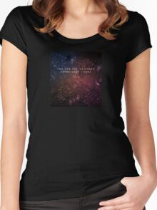 You are the universe expressing itself Women's Fitted Scoop T-Shirt