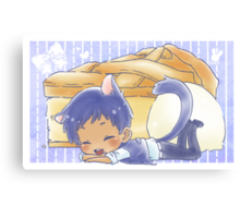 Cat Aomine and Apple Pie Canvas Print