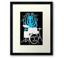 Octopus Rock! Framed Print