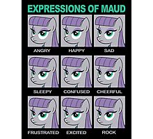 Expressions of Maud Tshirt Photographic Print