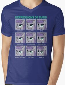 Expressions of Maud Tshirt Mens V-Neck T-Shirt