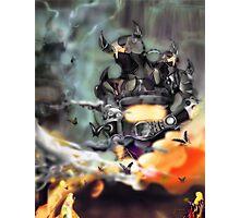 King Robots Photographic Print