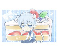 Mouse Kuroko and Strawberry Shortcake Photographic Print