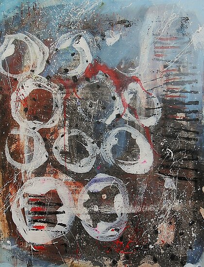 Abstract Expressionism 1 by Bea Roberts