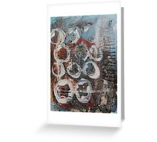 Abstract Expressionism 1 Greeting Card