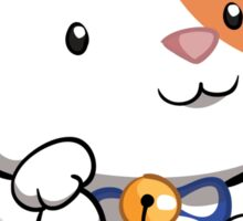Cute Maneki Neko Beckoning Cat Sticker