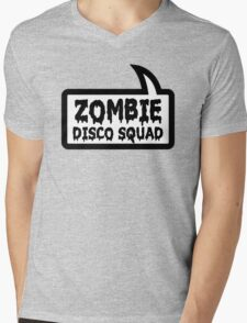 ZOMBIE DISCO SQUAD SPEECH BUBBLE by Zombie Ghetto Mens V-Neck T-Shirt