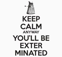 Doctor Who Keep Calm Dalek 2 by nofixedaddress