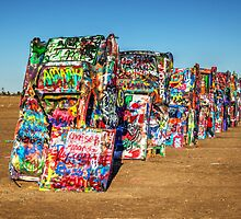 Cadillac Ranch  by Rob Hawkins