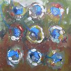 Abstract Expressionism 7 by Bea Roberts