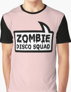 ZOMBIE DISCO SQUAD SPEECH BUBBLE by Zombie Ghetto Graphic T-Shirt