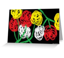Midnight Roses Greeting Card