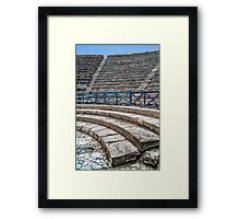 First Row Seats Framed Print