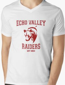 Echo Valley Raiders Mens V-Neck T-Shirt