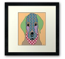 Cute Little Labrador Puppy Framed Print
