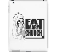 Fat Mary Church (B/W) - tablet cases iPad Case/Skin