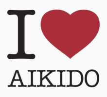 I ♥ AIKIDO Kids Clothes