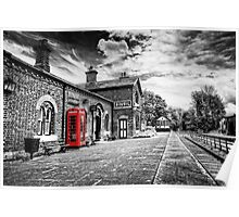 Hadlow Road Railway Station Poster