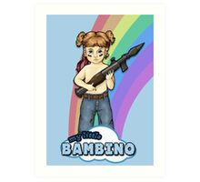 My Little Bambino Art Print