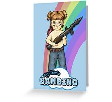 My Little Bambino Greeting Card