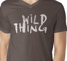 Wild Thing Mens V-Neck T-Shirt