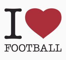 I ♥ FOOTBALL by eyesblau